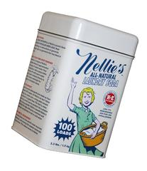 Nellie's NLS-100T All Natural Laundry soda, 100 Load Tin,