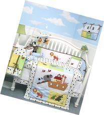 SoHo Noah Ark Baby Crib Nursery Bedding 13 pcs included