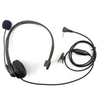 Zeadio Noise Cancelling Headset Earpiece Boom Microphone for