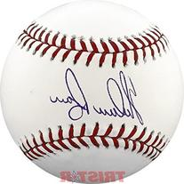 Nolan Ryan Signed Autographed Major League Baseball TRISTAR