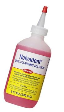 Fort Dodge Animal Nolvadent Oral Cleansing Solution Bottle,