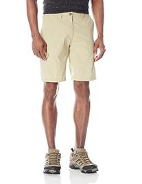 ExOfficio Men's Nomad Shorts, Light Khaki, 32