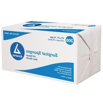 Dynarex Non-Sterile Gauze Sponge, 4 Inch x 4 Inch, 200 Count
