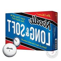 TaylorMade Noodle Long & Soft Golf Ball, 15-Ball Pack