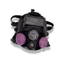 North Medium/Large Black Silicone 7600 Series Full Face