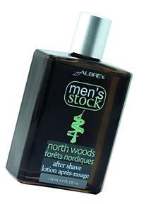 Aubrey Organics Men's Stock Aftershave * ALL NATURAL * North