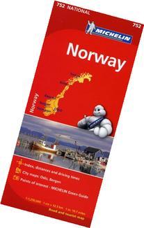 Michelin Norway Map 752