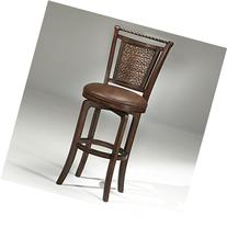 Hillsdale Norwood 30.5 Inch Swivel Bar Stool in Brown Cherry