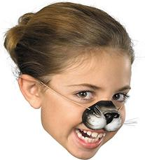 Nose Black Cat W Elastic