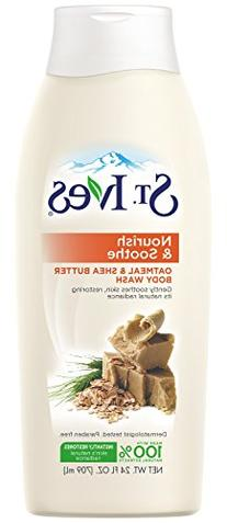 St. Ives Nourish and Soothe Body Wash, Oatmeal and Shea