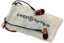 Symphonized NRG Premium Genuine Wood In-ear Noise-isolating