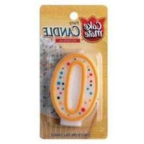 Numeral Candle No 0 1 Ct