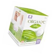 Organyc 100% Organic Cotton Nursing Pads for Sensitive Skin