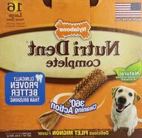 Nutri Dent Adult Filet Mignon 16 ct Large Pantry Pack