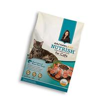 Rachael Ray Nutrish Natural Dry Cat Food, Salmon & Brown
