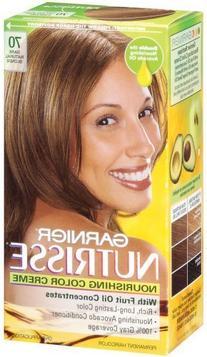 Garnier Nutrisse Haircolor, 70 Dark Natural Blonde Almond Cr