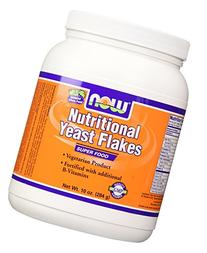 NOW Nutritional Yeast Flakes,10-Ounce