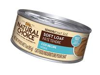 Nutro Natural Choice Soft Loaf Cod Recipe Canned Senior Cat