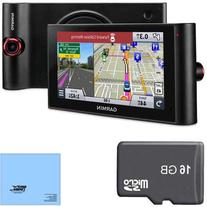 "Garmin nuviCam LMTHD 6"" GPS Navigation System with Built-in"
