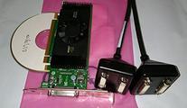 nVidia Quadro NVS 420 NVS420 512MB Quad Display 4 Monitor