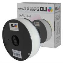 LD © Natural 1.75mm Nylon 3D Printer Filament