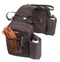 Tough 1 Nylon Water Bottle/Gear Carrier Saddle Bag, Brown