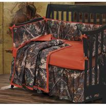 HiEnd Accents Realtree Oak Camo Crib Set