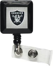 NFL Oakland Raiders 14143021 Retractable Badge Holder