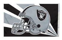 W2B - Oakland Raiders 3'x5' Helmet Design Flag