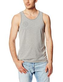 Brixton Men's Oath Tank Top, Burgundy, Medium