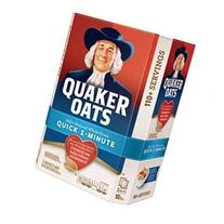 Quaker Oats Quick 1 Minute Oatmeal - 2/5 lb