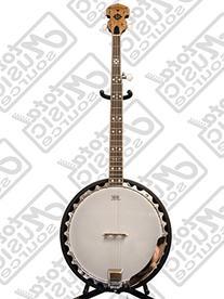 Oscar Schmidt OB5SP 5-String Banjo, Remo Head,Spalted Maple