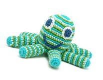 Pebble Deep Green Octopus Rattle Octopus toys, Kids toys,