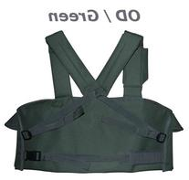OD Green 7-Pouch Tactical Chest Rig