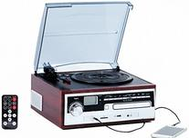 TechPlay ODC26WD 3 Speed Retro classic Turntable W/ CD plaer