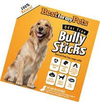 Bully Sticks Supreme Odor-Free - 6-Inch All-Natural Dog