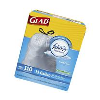 Glad OdorShield Tall Kitchen Drawstring Fresh Clean Trash