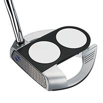 Odyssey Works Versa 2-Ball Fang Tank Putter with SuperStroke