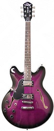 OE30 Purple Burst Oscar Schmidt Semi-Hollow Body Electric