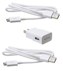 Samsung OEM 2 Amp Adapter 5-Feet Micro USB Data Sync