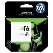 HP 61XL,  High Yield Tri-color Original Ink Cartridge