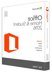 Microsoft Office Home and Student 2016 for Mac | 1 user, Mac