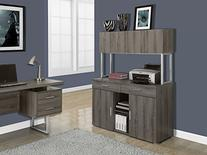 Office Storage Credenza in Dark Taupe