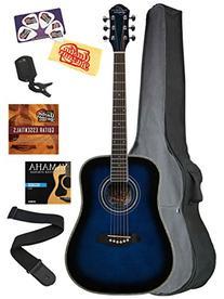 Oscar Schmidt OG1 3/4-Size Dreadnought Acoustic Guitar