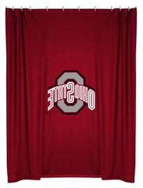 Ohio State Printed Shower Curtain Cover 70
