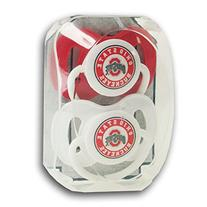 Ohio State University 2 Pack Pacifiers OSU