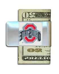 Ohio State University Pewter Money Clip NCAA