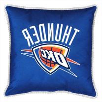 NBA Oklahoma City Thunder Sidelines Toss Pillow, 17 x 17,