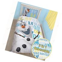 Disney Frozen Olaf Single Panel Duvet Cover and Pillowcase