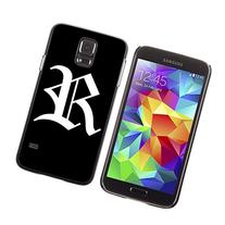 "STPlus Letter ""R"" Old English Hard Cover Case for Samsung"